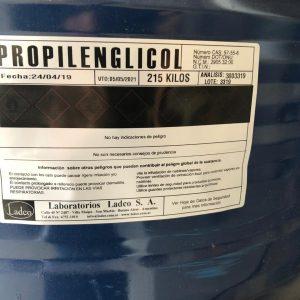 Etiqueta Propilenglicol SGA